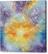 Unforeseen Kiss Canvas Print