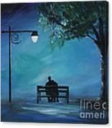 Unforgettable Evening Canvas Print