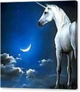 Unicorn Pegasu Canvas Print