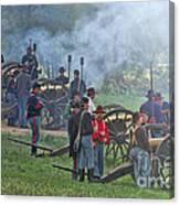 Union Artillery Battery Canvas Print