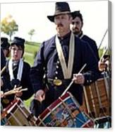 Union Drum Corps Perryville Ky Canvas Print