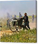 Union Gattling Gun Canvas Print