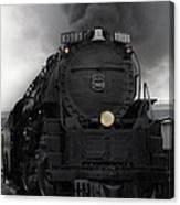 Union Pacific 3985 Canvas Print