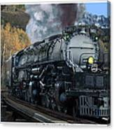 Union Pacific 4-8-8-4 Big Boy Canvas Print