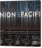 Union Pacific - Big Boy Tender Canvas Print