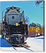 Union Pacific Challenger Canvas Print