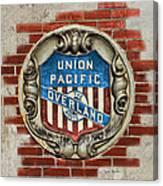 Union Pacific Crest Canvas Print