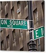 Union Square West I Canvas Print