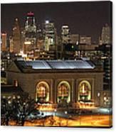 Union Station At Night Canvas Print