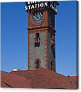 Union Station In Portland Oregon Canvas Print
