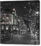 Union Station In The Winter Canvas Print