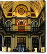 Union Station Lobby-large Size Canvas Print
