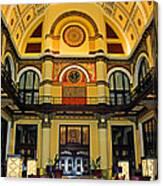 Union Station Lobby Larger Size Canvas Print