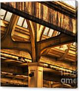 Union Station Roof Structure Canvas Print