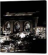 Union Station Sepia Canvas Print