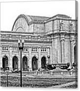 Union Station Washington Dc Canvas Print