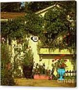 Unionville Summer Home Circa 1880 Canvas Print