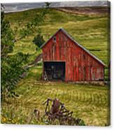 Unique Barn In The Palouse Canvas Print