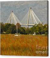 Unique Bridge View Canvas Print