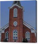 United Methodist Church Lowville Ny Canvas Print