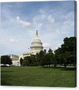United State Capitol  Washington Dc Canvas Print