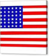 United States 30 Stars Flag Canvas Print