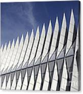 United States Airforce Academy Chapel Colorado Canvas Print