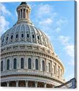 United States Capitol Building Dome Canvas Print