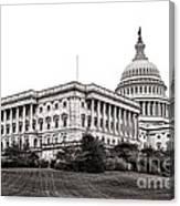 United States Capitol Senate Wing Canvas Print