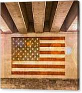 United States Flag Canvas Print
