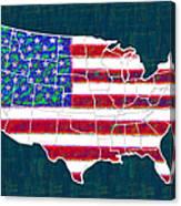 United States Of America - 20130122 Canvas Print