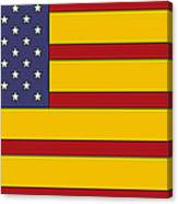 United States Of Iberia Canvas Print
