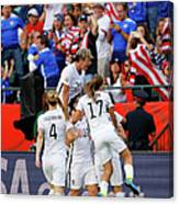 United States V Colombia Round Of 16 - Canvas Print