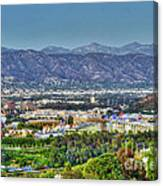 Universal City Warner Bros. Studios Clear Clear Day Canvas Print