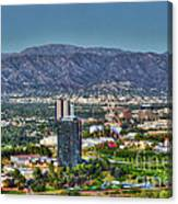Universal City Warner Bros Studios Clear Day Canvas Print
