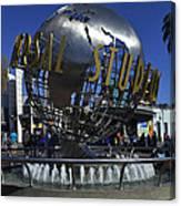 Universal Studios Globe Canvas Print