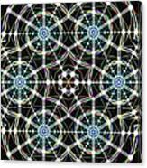 Universal Web Matrix Canvas Print