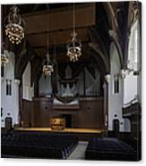 University Auditorium And The Anderson Memorial Organ Canvas Print