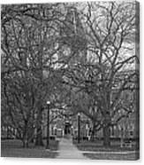 University Hall And Pathway Osu Canvas Print