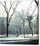 University Of Chicago 1976 Canvas Print