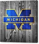 University Of Michigan Canvas Print