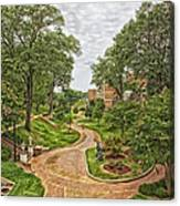 University Of North Alabama Campus Canvas Print