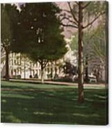 University Of South Carolina Horseshoe 1984 Canvas Print
