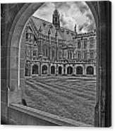 University Of Sydney-black And White V3 Canvas Print