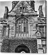 University Of Sydney-black And White V4 Canvas Print