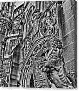 University Of Sydney-black And White V5 Canvas Print