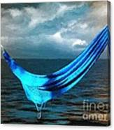 Unravelling Canvas Print