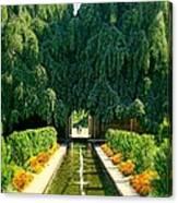 Untermyer Gardens And Park Canvas Print