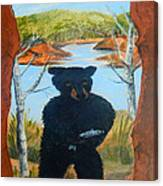Untitled Bear Canvas Print