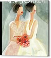 June Brides Canvas Print
